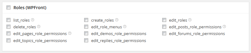 Custom Post Type Extended Permission Capabilities