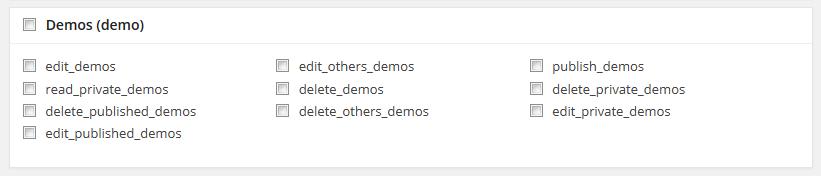 Demo Custom Post Type Section